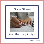 Style Sheet: Keep That Story Straight
